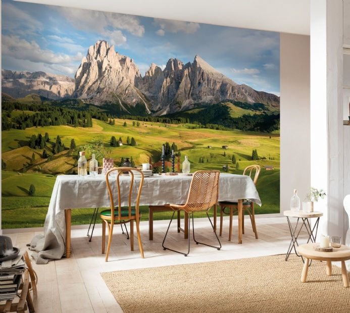 Alps Mountains paper wallpaper | Homewallmurals